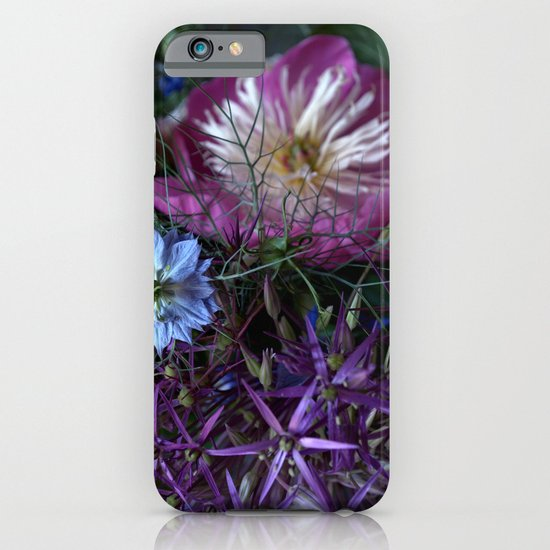 Purple Love Clusters iPhone & iPod Case