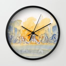 The Trip Scene Wall Clock