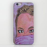 sister iPhone & iPod Skins featuring sister by Elide G