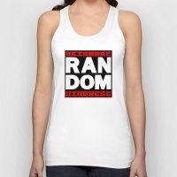 random Tank Tops featuring RANDOM by PsychoBudgie