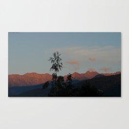 The Polish Tatras Canvas Print