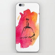 Retro Chic Runway Dress 7 iPhone & iPod Skin