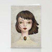 coraline Stationery Cards featuring Coraline by Gökçenur