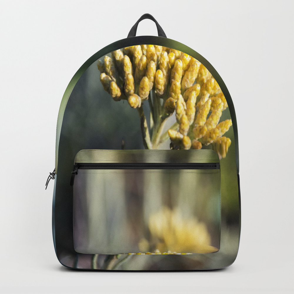 Curry Flower Backpack by Tess_andre BKP7741672