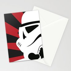 Storm Trooper Portrait Stationery Cards