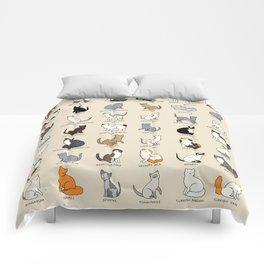 Cat Breeds Comforters