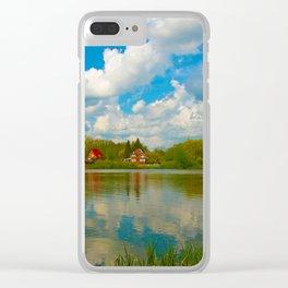Am Dorfteich, irgendwo wo es schön ist Clear iPhone Case