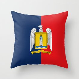 Flag of Valparaiso Throw Pillow
