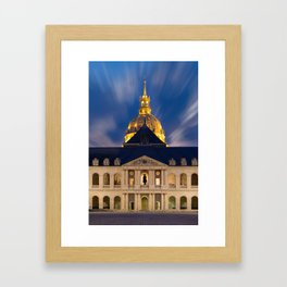 the Hotel of the invalids in Paris Framed Art Print