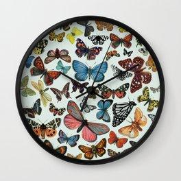 BUTTERFLY CLUSTER II Wall Clock