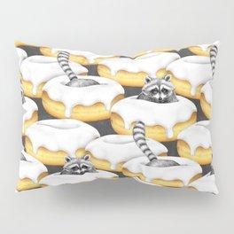 Fanciful Food Imaginations of a Sugar Addicted Raccoon Pillow Sham