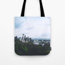 Seattle afternoon views Tote Bag
