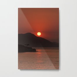 Turkish Sunset Metal Print