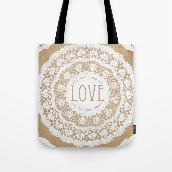 All You Need is Love Tote Bag