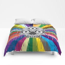 3 Eyed Jackass Comforters