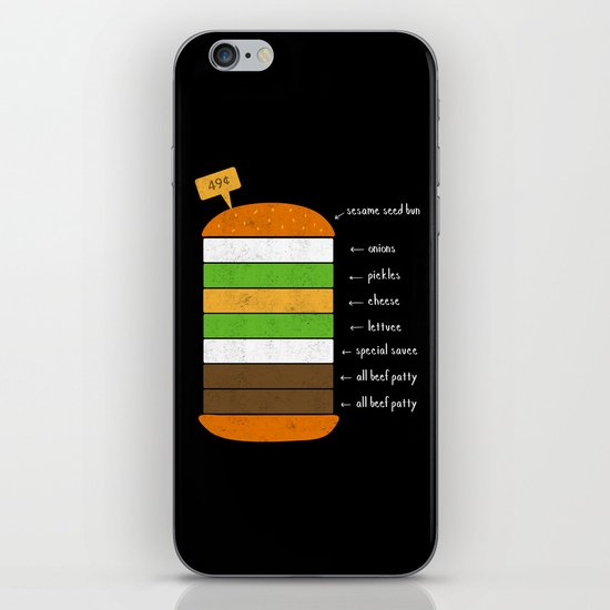 McJingle circa 1968 iPhone & iPod Skin