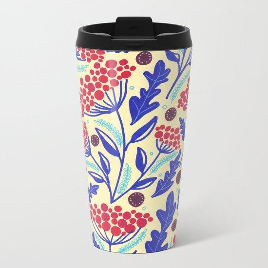 Spring vibes IV Metal Travel Mug