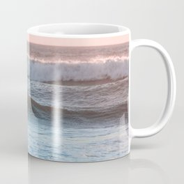 Beach Adventure Summer Waves at Sunset Coffee Mug