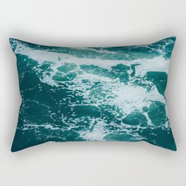 The Water Waves (Color) Rectangular Pillow