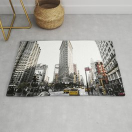 Desaturated New York Rug