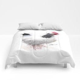 Light Sussex Hen Comforters