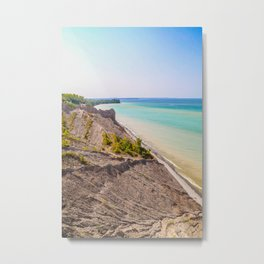 Along the Coast Metal Print