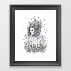 Queen Bee Framed Art Print