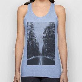 ROAD TRIP IV / Yosemite, California Unisex Tank Top