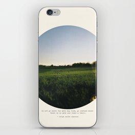 Go Instead iPhone Skin