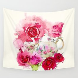 Tea 2 Wall Tapestry