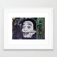 salvador dali Framed Art Prints featuring Salvador Dali by Victoria Herrera