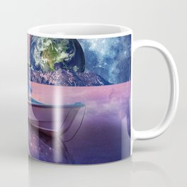 Sailing Away To The New World, From The Darkness To The Light Coffee Mug