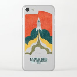 Come See The Universe Clear iPhone Case