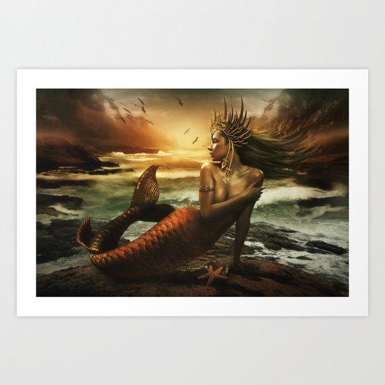 The Last Siren Art Print