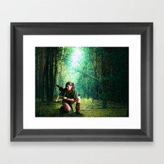 Adventurous Framed Art Print