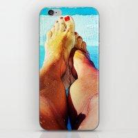 feet iPhone & iPod Skins featuring Feet by Carol Mota