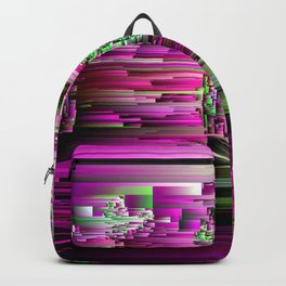 Glitchtastic - Abstract Pixel Art Backpack
