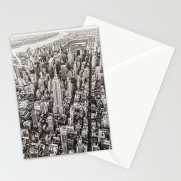 New York City Grey Stationery Cards