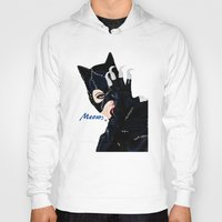 returns Hoodies featuring Catwoman Returns  by LARiozzi