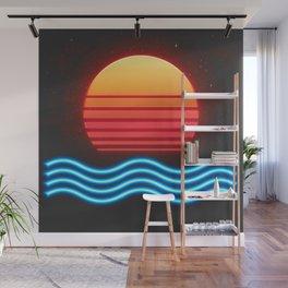 Midnight Sun Wall Mural