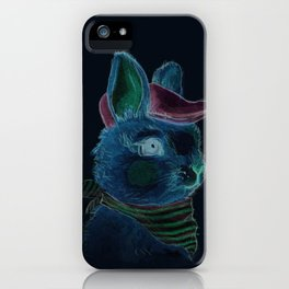 Bunny With Hat iPhone Case