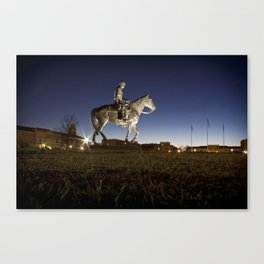 Will Rodgers and Soap Suds Canvas Print