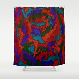 Synapses Firing Shower Curtain