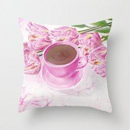 Morning Inspiration Throw Pillow