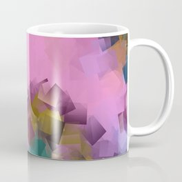 little sqares and rectangles pattern -16- Coffee Mug