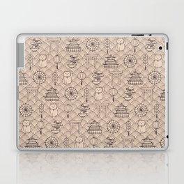 Retro asian pattern Laptop & iPad Skin