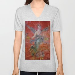The Victory with Wings Unisex V-Neck