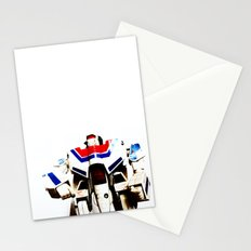 Let's fight like robots Stationery Cards