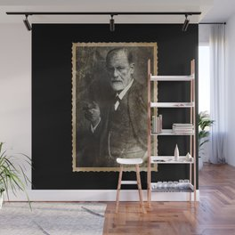 Retro Sigmund Freud Photo Wall Mural