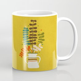 Potted Leaves Coffee Mug